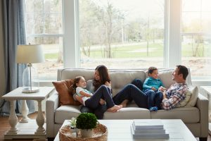 young-family-enjoying-air-conditioning-in-their-home